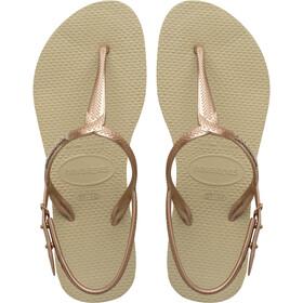 havaianas Twist Sandalias Mujer, beige